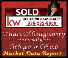 Market Statistics--Walker Co TX 1-1-2013 through 3-17-2013, market data, mari montgomery realty,huntsville tx real estate